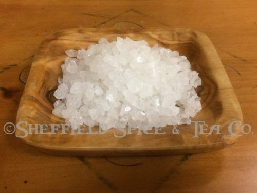 White Crystals Rock Sugar