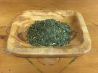 Ban Cha is produced from a bottom part of tea leaves as well as from later-harvested tea.