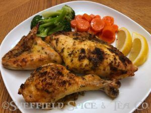 roast provencal chicken