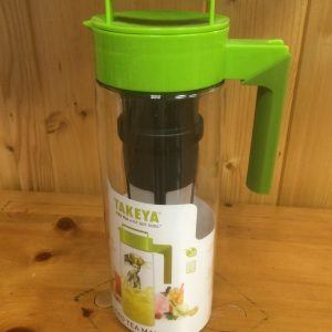 Takeya FLASH CHILL Iced Tea Maker 2 qt Lime