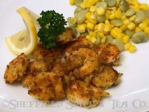 crispy lemon garlic pepper shrimp