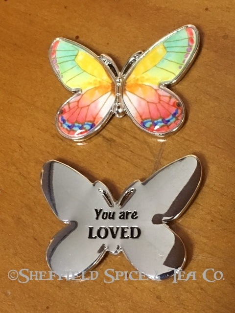 Ganz Butterfly Charm You are loved