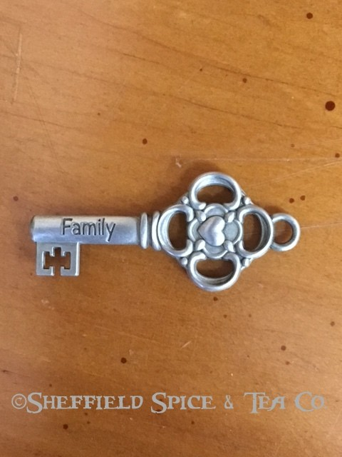 Ganz Inspirational Key Charm Family