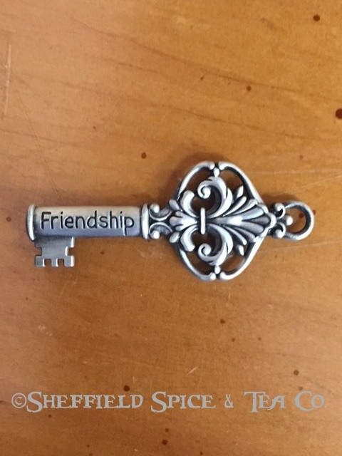 Ganz Inspirational Key Charm Friendship