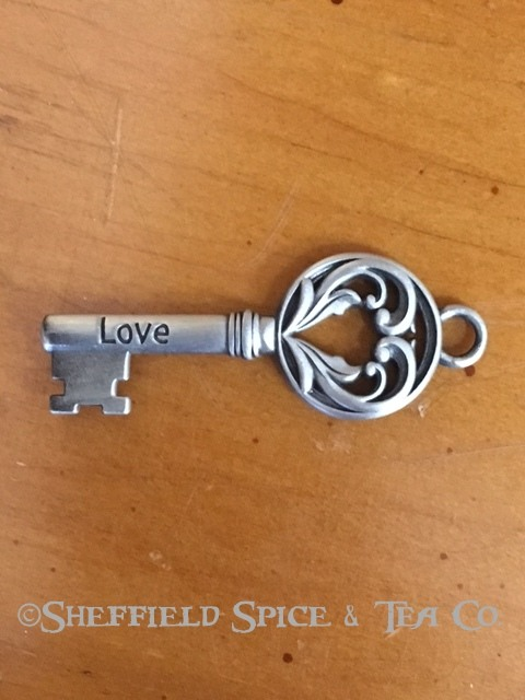 Ganz Inspirational Key Charm Love