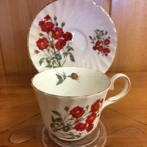 Bone China Tea Cups and Tea Pots