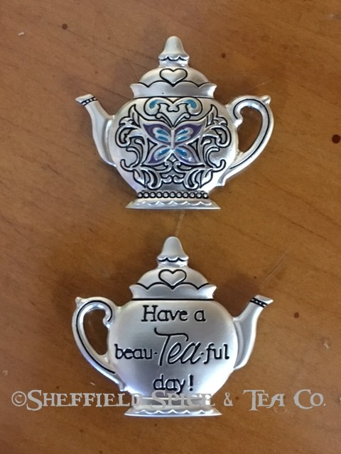 Ganz Tea Pot Charm 3