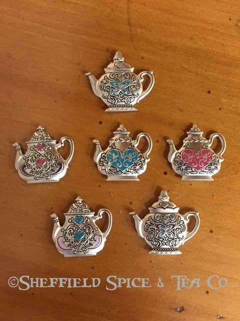 Ganz Tea Pot Charm all