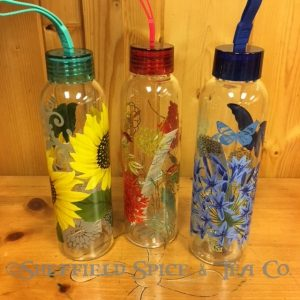 Cypress Double Wall Glass Beverage Bottles