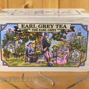 earl grey tea 25 bag wooden box