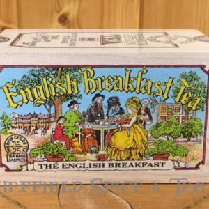 english breakfast tea 25 bag wooden box