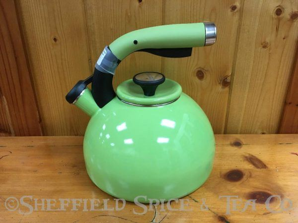 circulon morning bird 2 qt tea kettles kiwi green