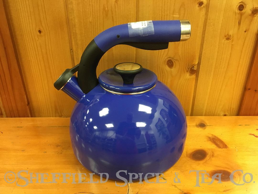 Circulon Morning Bird 2 Qt Tea Kettles Royal Blue