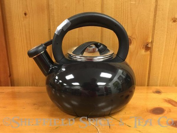 circulon sunrise 1.5 qt tea kettles black