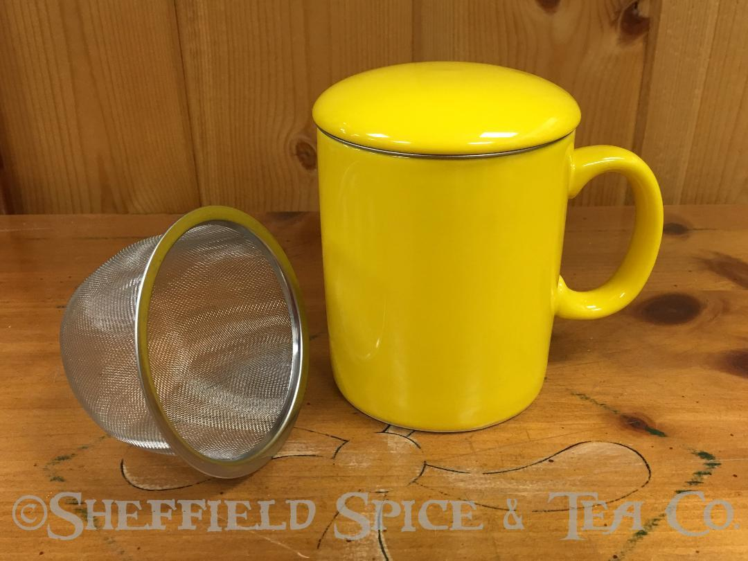 OmniWare Teaz Cafe Infuser Mug - Sheffield Spice & Tea Co