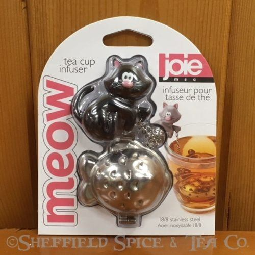 joie novelty tea infuser black cat