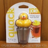 joie floating tea infuser duck