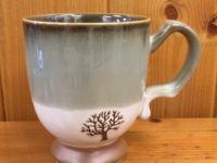 cypress ceramic artisan mugs tree artisan mug