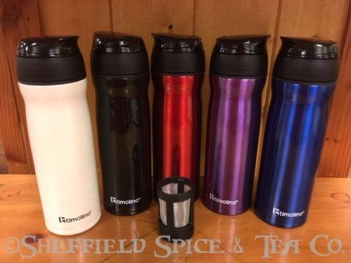 timolino travel tea infuser group