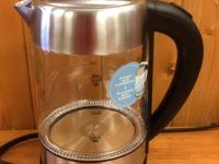 salton cordless electric kettle