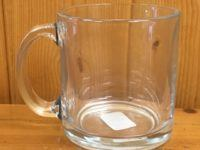 libbey clear glass tea mug 13oz