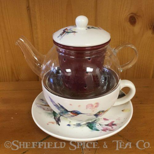 tea for one tea sets hummingbird