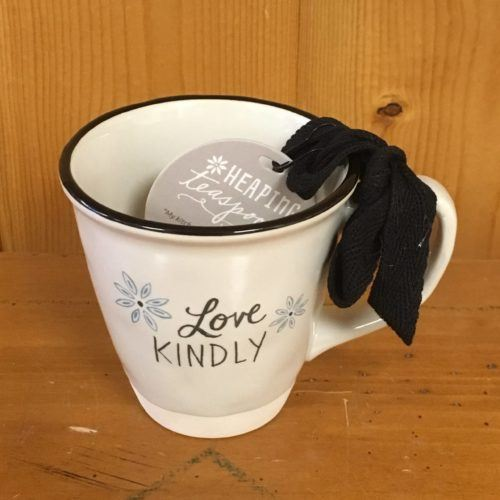 heaping teaspoons tea cup love kindly