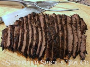 french marinated flank steak
