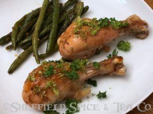 honey lime chicken legs