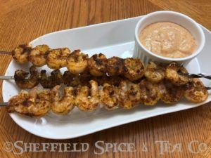 chesapeake bay grilled shrimp
